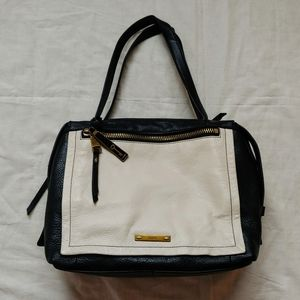 Fossil Bella Large Colorblock Leather Satchel/Tote